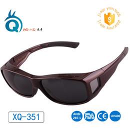 e9336f39073 Fit over sunglasses with myopia glasses Polarized sunglasses over  prescription glasses Plus size for big size myopia frame  498753