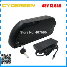 2a Connector Australia - 48v lithium battery 13.6ah Down tube battery 48V 13.6AH BIKE Battery Use for LG Cells with USB connector 15A BMS and 2A Charger