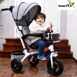 bike car seats 2019 - New Brand 1-6 Years Child Tricycle High Quality Swivel Seat Child Tricycle Bicycle Baby Buggy Stroller Bmx Baby Car Bike