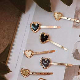 $enCountryForm.capitalKeyWord Australia - Vintage Alloy Bridal Hair Accessories Heart Hair Clips Pin For Women and Girls 2019 Fashion Jewelry