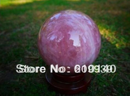 Crystal Lighting China Australia - New ++ BIG natural beautiful STAR LIGHT ROSE QUARTZ CRYSTAL sphere ball 160mm