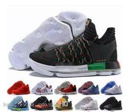 $enCountryForm.capitalKeyWord Australia - Wholesale New Kevin Durant Kd 10 X Oreo Bird Of Para Zoom Mens Basketball Shoes Kd10 Elite Sports Sneakers Low Trainers Size 7-12