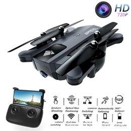 F196 складной дрон с 2-мегапиксельной HD-камерой оптический поток Dron управление жестами 20 минут Время полета RC Quadcopter VS SG700 Visuo XS809S