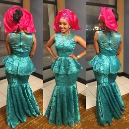 Champagne mermaid style prom dresses online shopping - Arabia Style Evening Dresses Sheer Neck Sleevelss Satin Mermaid Dubai Prom Gown Zipper Back Floor Length Formal Evening Dress