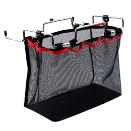 net kits Australia - Large Capacity Portable Barbecue Kit Bag Folding Table Multi-Function Hanging Storage Net Bag for Outdoor Camping Hiking Kitchen