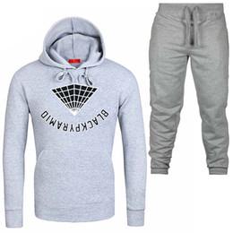 d7975b8f Sweatshirts Joggers Australia - New Hoodies Men Two Piece jacket+ joggers  sweatpants Winter thermal Sweatshirts Suit