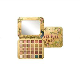 China DHL free Newest Makeup Palette Eye shadow Natural 30colors Sex Lust eyeshadow Palette in stock with gift supplier purple eyeshadow palette suppliers