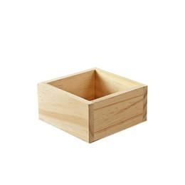 $enCountryForm.capitalKeyWord UK - Retro Style Wooden Stationery Case Jewelry Box Succulent Plants Square Flower Pot Garden Handmade Planting Multifunction Box