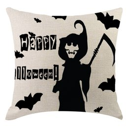 $enCountryForm.capitalKeyWord Australia - Home Decor Decorative Cushion Case Sofa Car Covers Halloween Pumpkin Pillow Cover Pillowcases Decorative Sofa Cushion Cover