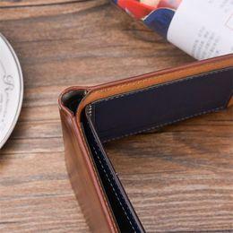 Easy card wallEt online shopping - Men RFID Blocking Short Leather PU Wallet Card Holder Purse With Coin Pocket Purse wallet men wallets easy to carry