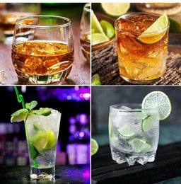ceramic molds Canada - New4 Cell Diamond Ice Ball Mold Silicone Ice Cube Tray Whiskey Ball Maker Ice Cream Molds Form Chocolate Mold For Party Bar