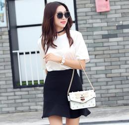 4 colores de cuero bolsos de lujo Bolsos de mujer Diseñador Mujer Bolsos Mensajero Bolsa de verano Bolsos de mujer para mujer 2019 Blanco Sac A Principal en venta
