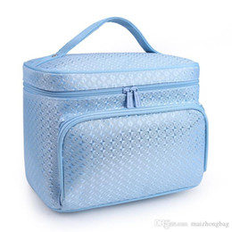 Linen Cosmetic Bags Cases Australia - Polyester Material Waterphoof Makeup Bag Fashion Cosmetics Bags For Travel And Business New Vogue Travel Bags Cheap Price