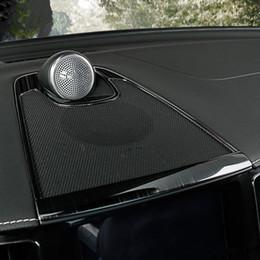 $enCountryForm.capitalKeyWord Australia - Car Center Console Dashboard Audio Speaker Frame Decoration Cover Trim For Volvo XC60 2018 Stainless Steel Interior Decals
