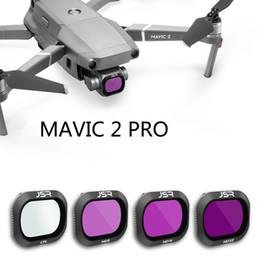 Vente en gros Accessoires DJI Noir Filtre UV / CPL / ND4 / ND8 / ND16 / ND32 / ND64 / Etoile pour DJI Mavic 2 Pro