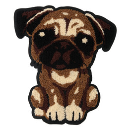 $enCountryForm.capitalKeyWord Australia - embroidery chenille dogs patches for jackets,embroidered towels badges appliques for jeans,animal patches for clothing
