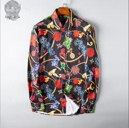 $enCountryForm.capitalKeyWord Australia - 2019 European station tide brand four seasons new body court print pattern personality fashion wild casual shirt