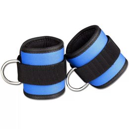 $enCountryForm.capitalKeyWord NZ - Resistance Durable Band D-ring Ankle Straps Fitness, Gym Fitness Pull Rope Fitness Pull Rope Workouts Cuffs