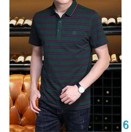 plus size polo shirts for men UK - Polo Man Designer Polo Shirt Luxury Shirt for Men 2020 New Aeeical Fashion Polyester Solid Casual Loose Summer Sport Plus Size S-4XL6