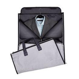 Travel Business Case Australia - Men's Business Travel Bags Big Large Capacity Clothes Suit Tie Tote Pouch Garment Shoe Classification Case Luggage Accessories
