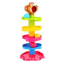 Developmental Toys Australia - Baby Childern Tower Puzzle Rolling Ball Bell Stackers Toys Kids Developmental interesting and funny and interestingToy