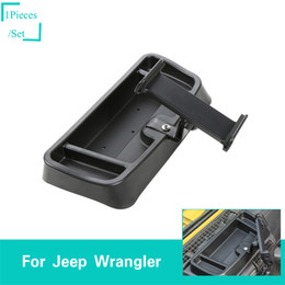 Jeep phones online shopping - ABS Black Mobile Ipad Phone Bracket For Jeep Wrangler TJ Second Generati Factory Outlet Auto Internal Accessories
