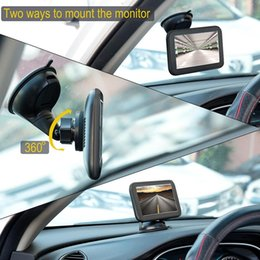 Wholesale Fashion Reversing Wireless Car Rear View Camera HD Waterproof Support Wireless Display Fashion New Automobile Motorcycle car dvr