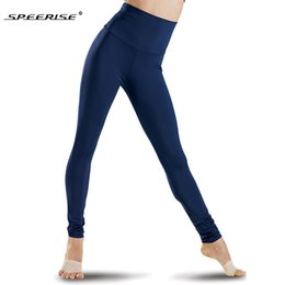 $enCountryForm.capitalKeyWord Australia - SPEERISE Black Womens High Waisted Leggings Stretch Pants Full Length Plus Size Lycra Spandex Fashion Fitness Dance Wear Y190603
