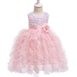 $enCountryForm.capitalKeyWord UK - New flower girl dresses for wedding sequin tutu long baby girls dresses kids dresses baby princess dress baby girl designer clothes A6063