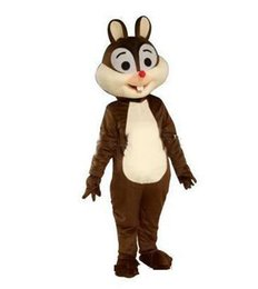 Discount squirrel fancy dress - 2019 Factory Outlets hot Squirrel mascot costume squirrel mascotter cartoon fancy dress costume Halloween Fancy Dress Ch