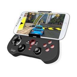 Tablet Wireless Controller UK - IPEGA PG Wireless Gamepad Bluetooth Game Controller Gaming Joystick for Android  iOS Tablet PC Smartphone TV Box PG-9017S BA