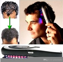 $enCountryForm.capitalKeyWord NZ - Women Power Grow Laser Comb Germinal hair Suit Hair Loss Regrow Treatment Restore Therapy Cure Unisex Scalp Massager Brunette Hair