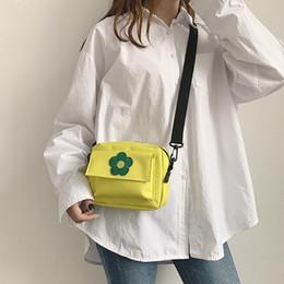 $enCountryForm.capitalKeyWord Australia - Women Canvas Cross Body Bag Fashion Small Shoulder Bag Cute Flower Canvas Bags Versatile Messenger Bags Girls Handbags #20