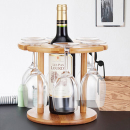 Glasses rack online shopping - Stemware Racks European Wine Rack Decoration Wine Glass Shelf Hanging Goblet Rack Upside Down Creative Ornaments