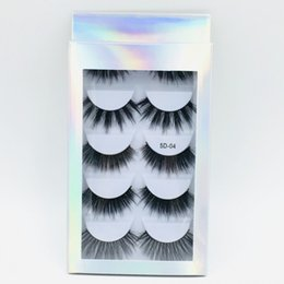 $enCountryForm.capitalKeyWord Australia - 5Pairs Set Multipack Mink Hair False Eyelashes Natural Thick Long Eye Lashes Wispy Makeup Beauty Extension Tools Beauty Wimpers