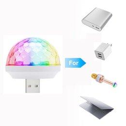Mini Led USB 5V RGB bunten Ball Musiksteuerung Licht KTV DJ Disco Licht Sprung Bühne Lampe Effekt Licht für Computer Smartphone