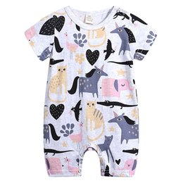 e2d945f931d8 Shop Baby Cartoon Rompers Animal UK
