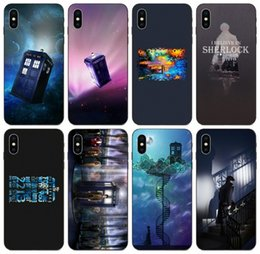 z iphone Canada - [TongTrade] Sherlock 221b Tardis Doctor Who Case For iPhone 11 Pro Max X XS 8s 8 7s 7 6 Plus Galaxy A20 A20E A20S Sony Xperia Z Custom Case