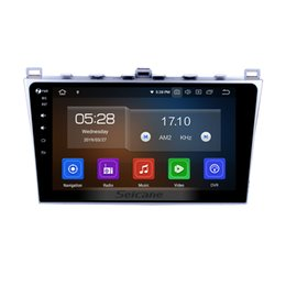 Mazda Mobile NZ - 10.1 Inch Android 9.0 Car Stereo GPS Navigation for 2008 2009 2010 2011-2015 Mazda 6 Rui wing with Bluetooth support Rearview camera car dvd