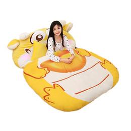 Dragon Bedding UK - Dorimytrader Chinese Dragon Sleeping Bag Tatami Giant Stuffed Lucky Dragon Beanbag Soft Bed Carpet Mat Sofa for Children Gift DY61641