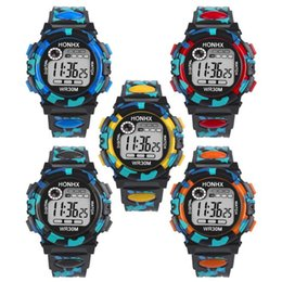Discount electronics drop shipped - Splendid New Digital movement Kids Child Boy Girl Multifunction Waterproof Sports Electronic Watch Watches Drop Shipping