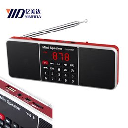 Dab portable raDio online shopping - Bluetooth Timed shutdown AM FM Radio FM dab Radio radyo USB TF Card MP3 Phone Music Player Speaker