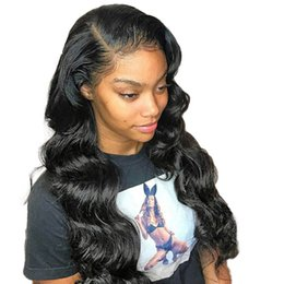 China Cheap Human Hair Lace Front Wigs Body Wave Remy Straight Unprocessed Lace Front Wig Brazilian 13*4 For Black Women supplier remy straight hair for cheap suppliers