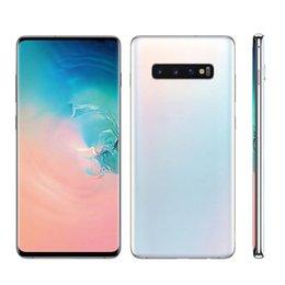 Großhandel 6,5-Zoll-Goophone ES10plus 10 Plus 10+ 1G / 16GB ROM 4G / 128GB-Mobiltelefon-Quad-Core-Entriegelter WCDMA-Smartphone mit versiegeltem Karton