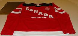 $enCountryForm.capitalKeyWord Australia - Cheap Custom CA 2015 World Juniors Hockey Jersey IIHF 100th Anniversary Ladies XS Mens stitching jerseys