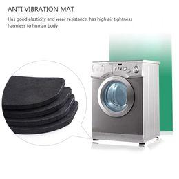 Bathroom Hardware 4pcs Multifunctional Refrigerator Washing Machine Anti-vibration Pad Mat Products Hot Sale Home Improvement