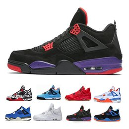 72f8f10d2b61 Raptors Men Basketball Shoes Travis x Sports Shoe Houston Oilers 4s Cactus  Jack Pure Money Cement Black Cat Bred Motosports Sneakers