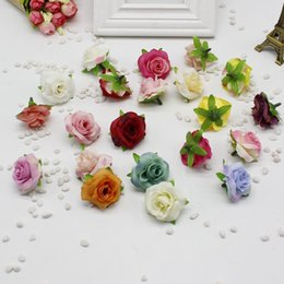 $enCountryForm.capitalKeyWord Australia - 5pcs lot Fresh And Artificial Flowers Small Tea Bud Simulation Small Tea Rose Silk Flower Decoration Flower Head Diy Accessories