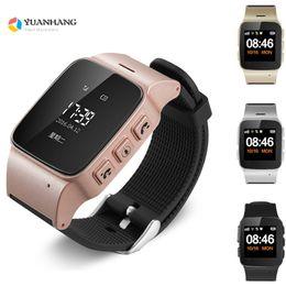 $enCountryForm.capitalKeyWord Australia - D99 Elderly Kids GPS LBSTracker Android Smart Watch for Map SOS Wristwatch GSM Wifi Safety Anti-Lost Locator Watch PK D100