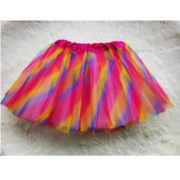 Red White Blue Tutus Australia - Summer Fashion Lovely Ball Gown Baby Tutu Skirt Mini Lace Mesh Ballet Dance Girls Skirts Children Clothing Tutu Pettiskirt 1-6Y